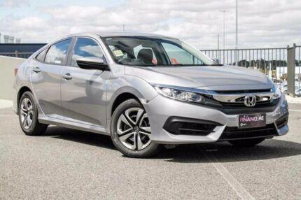 2017 Honda Civic MY17 VTi Lunar Silver Continuous Variable Sedan Wangara Wanneroo Area Preview