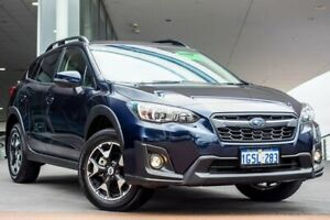 2018 Subaru XV G5X MY18 2.0i-L Lineartronic AWD Dark Blue Pearlescent 7 Speed Constant Variable Wangara Wanneroo Area Preview