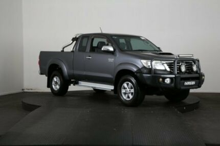 2012 Toyota Hilux KUN26R MY12 SR5 (4x4) Grey 5 Speed Manual X Cab Pickup McGraths Hill Hawkesbury Area Preview