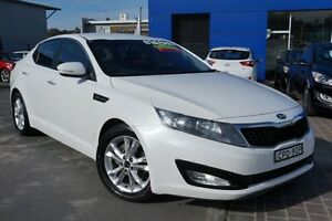 2013 Kia Optima TF MY13 SI White 6 Speed Sports Automatic Sedan Pearce Woden Valley Preview