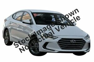 2018 Hyundai Elantra AD MY18 Active White 6 Speed Sports Automatic Sedan