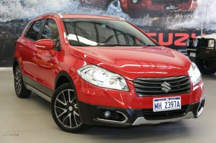 2014 Suzuki S-Cross JY GLX (4x2) Red Continuous Variable Wagon