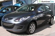 2012 Mazda 2 DE10Y2 MY12 Maxx Grey 4 Speed Automatic Hatchback Osborne Park Stirling Area Preview