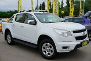 2014 Holden Colorado RG MY14 LTZ Crew Cab 4x2 White 6 Speed Sports Automatic Utility Pearce Woden Valley Preview
