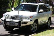 2013 Toyota Landcruiser URJ202R MY12 Sahara White 6 Speed Sports Automatic Wagon Hawthorn Mitcham Area Preview