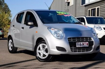 2010 Suzuki Alto GF GL Silver 4 Speed Automatic Hatchback