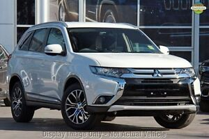 2016 Mitsubishi Outlander ZK MY16 XLS (4x4) White Solid Continuous Variable Wagon Blacktown Blacktown Area Preview