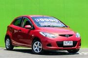 2007 Mazda 2 DE10Y1 Neo Red 4 Speed Automatic Hatchback Ringwood East Maroondah Area Preview