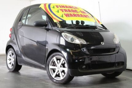 2008 Smart ForTwo 451 Coupe Black 5 Speed Automated Manual Coupe Underwood Logan Area Preview