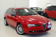 2006 Alfa Romeo 156 MY2004 JTS Selespeed Red 5 Speed Seq Manual Auto-Clutch Wagon Myaree Melville Area Preview