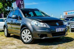 2011 Suzuki SX4 GYB MY10 Mineral Grey 6 Speed Constant Variable Hatchback