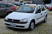2002 Holden Barina EQUIPE White 5 Speed Manual Hatchback Delacombe Ballarat City Preview
