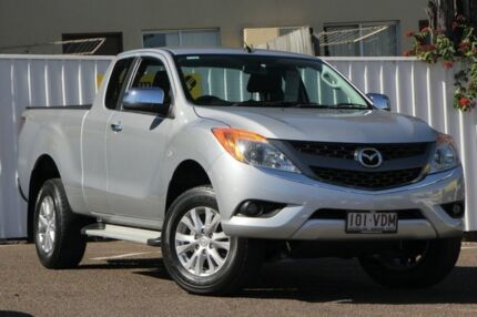 2014 Mazda BT-50 UP0YF1 XTR Freestyle Highlight Silver 6 Speed Sports Automatic Utility