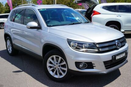 2014 Volkswagen Tiguan 5N MY15 132TSI DSG 4MOTION Silver 7 Speed Sports Automatic Dual Clutch Wagon Phillip Woden Valley Preview