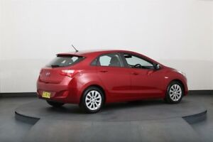 2015 Hyundai i30 GD3 Series 2 Active Red 6 Speed Automatic Hatchback