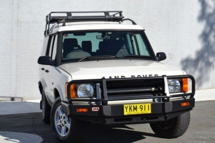 2001 Land Rover Discovery II 02MY S White 5 Speed Manual Wagon Pearce Woden Valley Preview