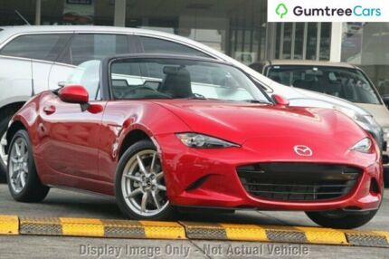 2016 Mazda MX-5 K Soul Red 6 Speed Manual Roadster Gymea Sutherland Area Preview