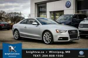 2014 Audi A5 Quattro AWD S Line w/ Navigation/Leather/Sunroof