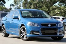 2015 Holden Commodore VF MY15 SV6 Storm Blue 6 Speed Automatic Sedan Greenacre Bankstown Area Preview