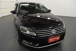 2013 Volkswagen Passat 3C MY14 118 TSI Black 7 Speed Automatic Sedan Moorabbin Kingston Area Preview