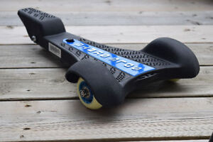 Black and Blue Barely Used Razor Sole-Skate -VERY GOOD CONDITION