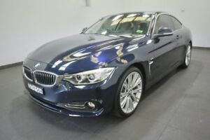 2015 BMW 420d F32 Luxury Line Blue 8 Speed Sports Automatic Coupe