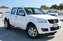 2014 Great Wall V240 K2 MY14 4x2 White 5 Speed Manual Utility Craigieburn Hume Area Preview