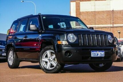 2010 Jeep Patriot MK MY2010 Sport Black 5 Speed Manual Wagon Fremantle Fremantle Area Preview