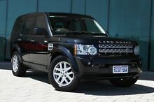 2011 Land Rover Discovery 4 Series 4 MY11 TdV6 CommandShift Black 6 Speed Sports Automatic Wagon Victoria Park Victoria Park Area Preview