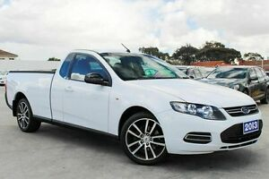 2013 Ford Falcon FG MkII Ute Super Cab White 6 Speed Sports Automatic Utility Craigieburn Hume Area Preview