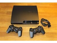 PS3 bundle (2 controllers&21 games) 320 GB