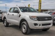 2013 Ford Ranger PX XL Double Cab White 6 Speed Sports Automatic Cab Chassis Aspley Brisbane North East Preview