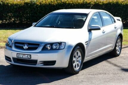 2009 Holden Commodore VE MY10 Omega Silver 6 Speed Automatic Sedan Riverstone Blacktown Area Preview