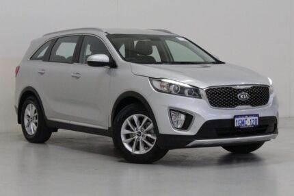2016 Kia Sorento UM MY16 SI (4x2) Silver 6 Speed Automatic Wagon Bentley Canning Area Preview