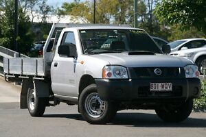 2010 Nissan Navara D22 MY2009 DX Silver 5 Speed Manual Cab Chassis Moorooka Brisbane South West Preview