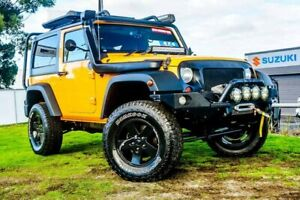 2012 Jeep Wrangler JK MY2012 Sport Yellow 6 Speed Manual Softtop Wangara Wanneroo Area Preview