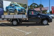 2010 Toyota Hilux TGN16R MY10 Workmate 4x2 Black 5 Speed Manual Cab Chassis Morley Bayswater Area Preview