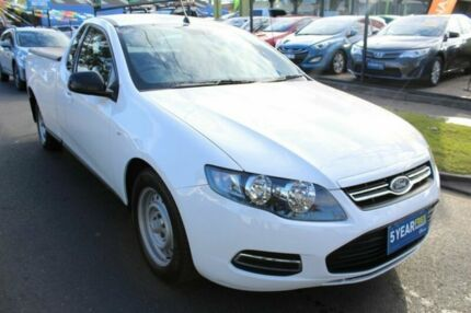 2012 Ford Falcon FG MkII EcoLPi Ute Super Cab White 6 Speed Sports Automatic Utility West Footscray Maribyrnong Area Preview