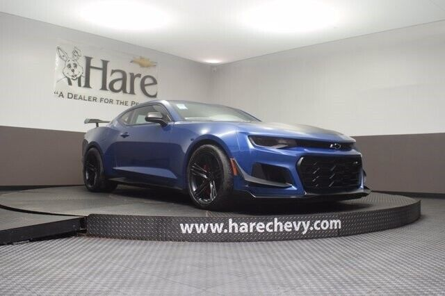 2020 Chevrolet Camaro ZL1 5 Miles Riverside Blue Metallic 2D Coupe 6.2L V8 Super