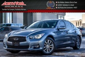 2014 INFINITI Q50 Premium|AWD|Sunroof|Nav.|Bose|HeatSeats|Backup