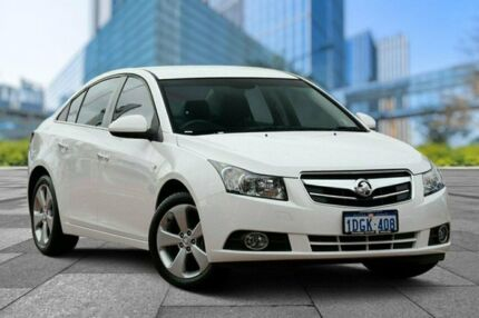 2010 Holden Cruze JG CDX White 6 Speed Sports Automatic Sedan Myaree Melville Area Preview