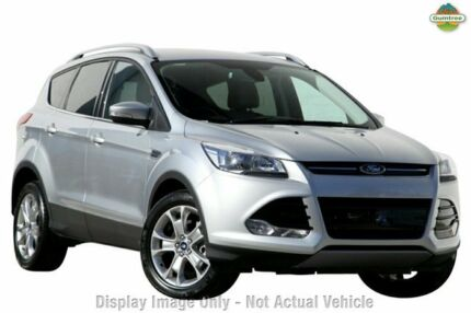 2015 Ford Kuga TF MY15 Trend AWD Moondust Silver 6 Speed Auto Seq Sportshift Wagon Tuggerah Wyong Area Preview
