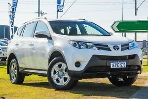 2014 Toyota RAV4 ZSA42R MY14 GX 2WD White 7 Speed Constant Variable Wagon Myaree Melville Area Preview