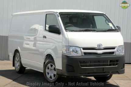 2010 Toyota Hiace TRH201R MY11 LWB Silver 4 Speed Automatic Van Upper Ferntree Gully Knox Area Preview