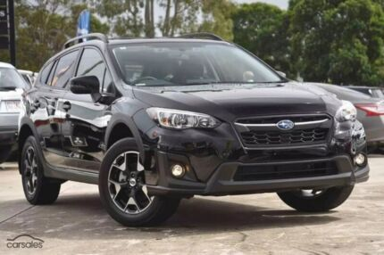 2017 Subaru XV G5X MY18 2.0i Premium Lineartronic AWD Black 7 Speed Constant Variable Wagon Sutherland Sutherland Area Preview
