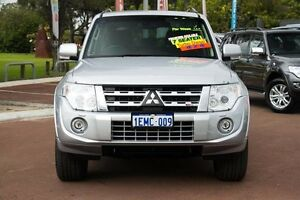 2014 Mitsubishi Pajero NW MY14 VR-X Silver 5 Speed Sports Automatic Wagon Cannington Canning Area Preview