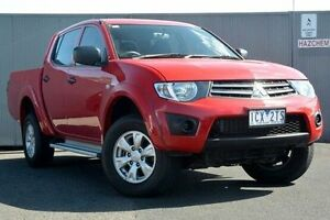 2014 Mitsubishi Triton Red Sports Automatic Utility Heidelberg Heights Banyule Area Preview