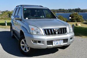 2005 Toyota Landcruiser Prado GRJ120R Grande Silver Ash 5 Speed Automatic Wagon Claremont Nedlands Area Preview