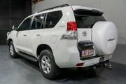2012 Toyota Landcruiser Prado KDJ150R 11 Upgrade GXL (4x4) White 5 Speed Sequential Auto Wagon Woodridge Logan Area Preview