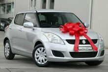 2013 Suzuki Swift FZ GL Silver 4 Speed Automatic Hatchback Pennant Hills Hornsby Area Preview